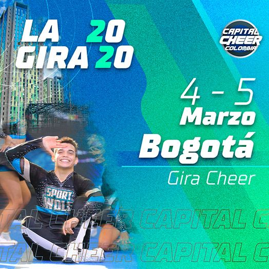 Gira Capital cheer bogota