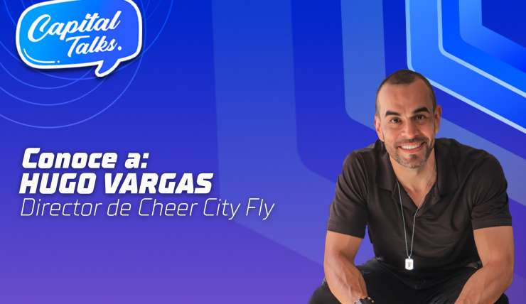Hugo Vargas, director de Cheer City Fly.